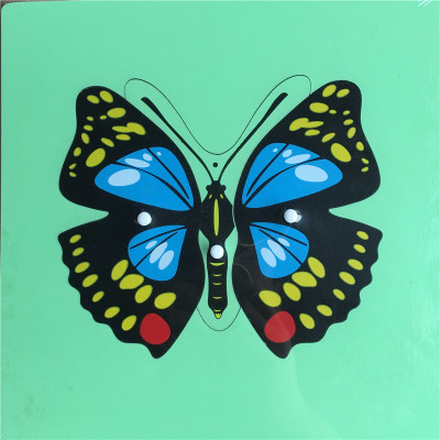 Butterfly Knobbed Puzzle