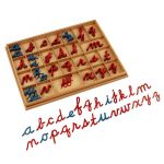 Moveable Alphabet Cursive with Box